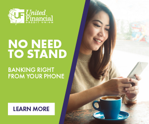 No need to stand - banking from your phone